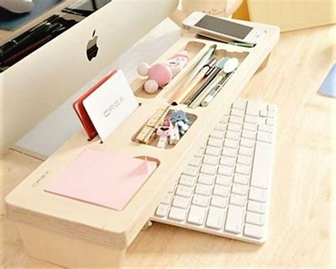 Diy Keyboard Shelf by Home Office Storage And Organization Ideas Lures And Lace