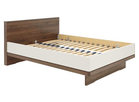 cali bed frame chagne and wood dreams