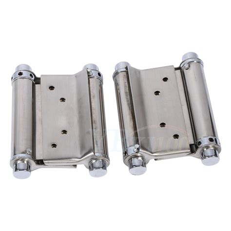 double swing gate hinges stainless steel 3inch double action spring hinge saloon