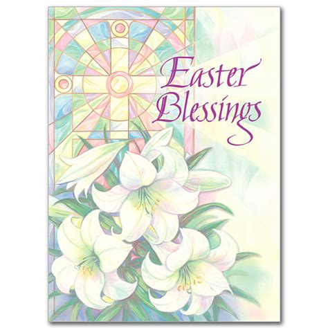 Catholic Easter Card Template by Easter Blessings Easter Card