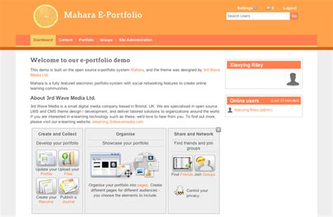 moodle themes how to install how to install a new mahara theme elearning themes