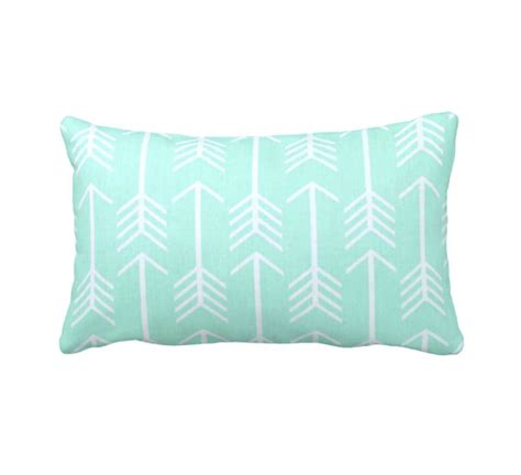Size Pillows by 7 Sizes Available Mint Throw Pillow Cover Decorative Pillows