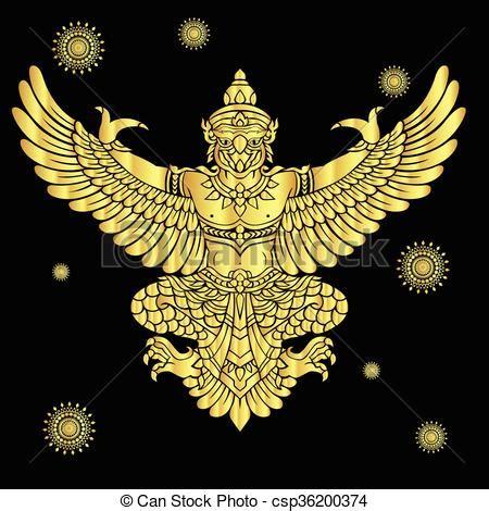 garuda vector garuda kings protective bird vector  eps