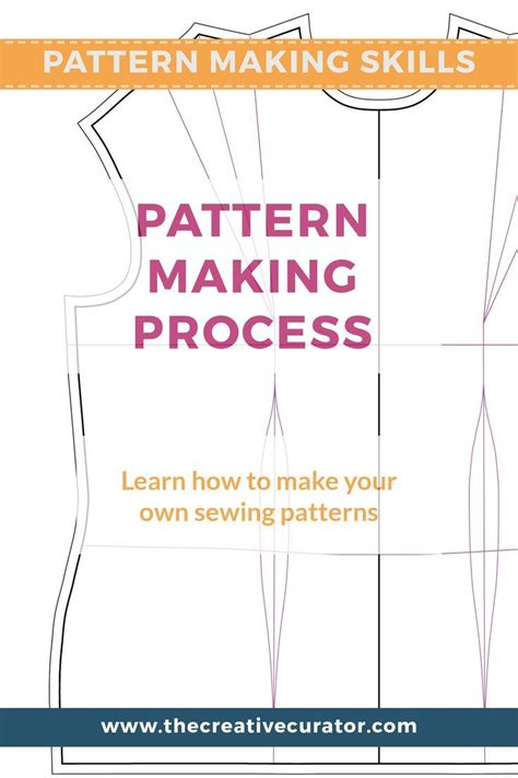 Pattern Making Process   485 best clothing tutorials images on pinterest sewing