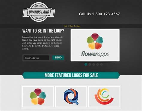 jquery landing page templates 40 innovative landing page templates