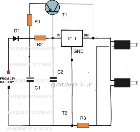 dc cellphone charger circuit