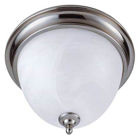 Ceiling Mounted Light Point Westinghouse 64093 2 Light Brushed Nickel Ceiling Flush Mount Light Fixture Elightbulbs