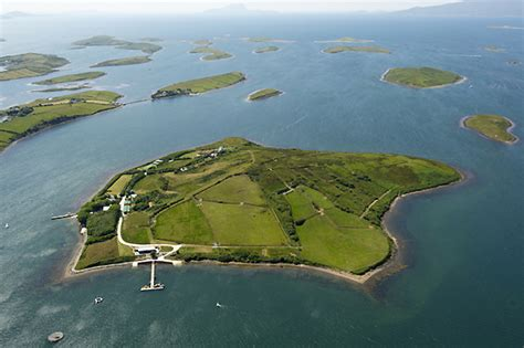 Small Pool House by Luxury Irish Island Inish Turk Beg For Sale For 2 85 Million