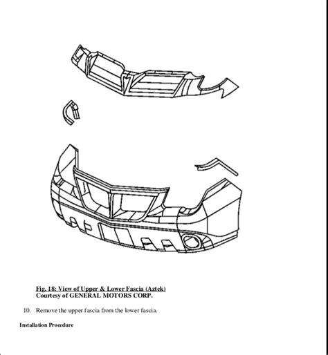 free service manuals online 2002 pontiac aztek on board diagnostic system 2002 pontiac aztek service repair manual