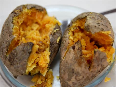 how to cook purple yam in the oven how to cook a sweet potato in the microwave 11 steps