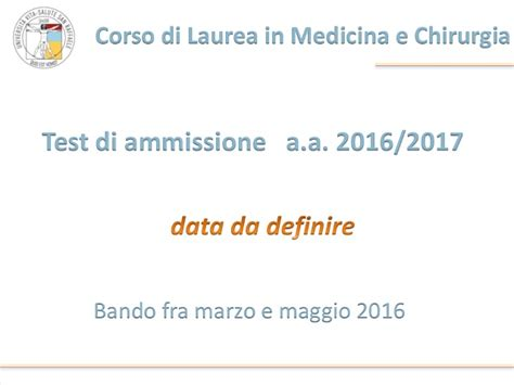 test ammissione ostetricia 2015 corso di laurea in medicina open day dicembre 2015