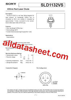 diode laser datasheet laser diode datasheet pdf 28 images ml101u29 datasheet laser diodes told9441mc datasheet