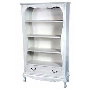 antique white bookcase furniture with handy drawers home