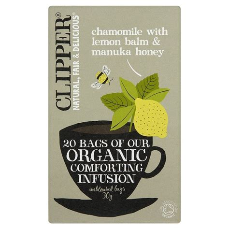 Clipper Detox Tea Review by Clipper Organic Infusion Chamomile With Lemon Balm