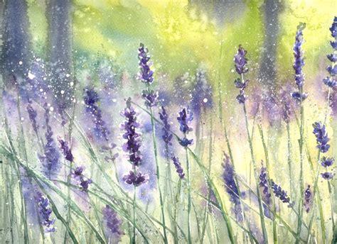 lavendar paint lavender summer by nibybiel on deviantart