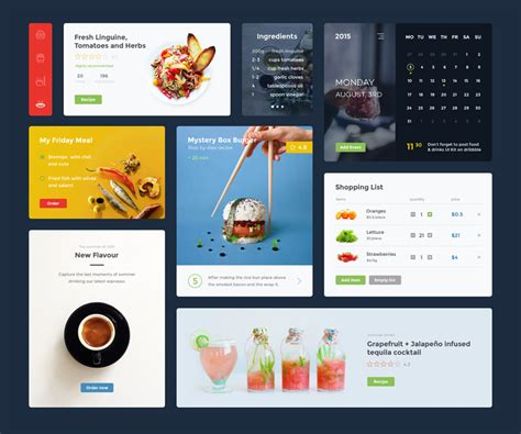 search bar ui design for sketch adobe xd illustrator 14 free food ui kits for photoshop sketch adobe
