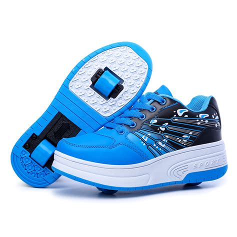 sneakers for boys 2016 new leather roller shoes heelys boys