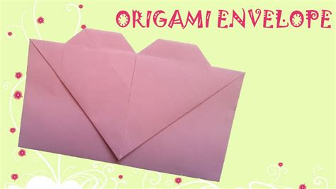 Make An Origami Envelope - origami easy origami envelope