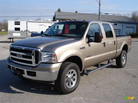 2006 arizona beige metallic ford f350 duty xlt crew cab 4x4 22066552 gtcarlot car