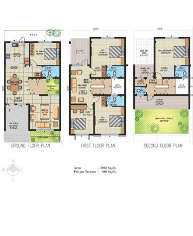 row house plans india row houses floor plans india gurus floor