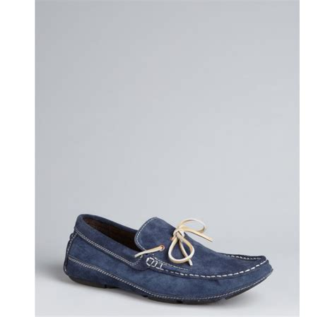 kenneth cole suede loafers kenneth cole reaction navy suede bow smooth landing