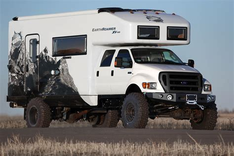 ford earthroamer earth roamer hd motorhome full time