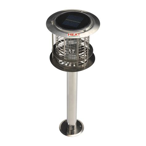 Solar Bug Light Solar Powered Insect Killer Garden Light Fly