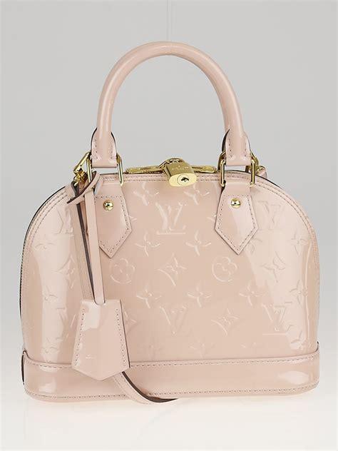 Louis Vuitton Alma Vernis Bb louis vuitton angelique monogram vernis alma bb bag