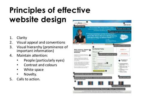 Effect Website Design   principles of website design customer experience and