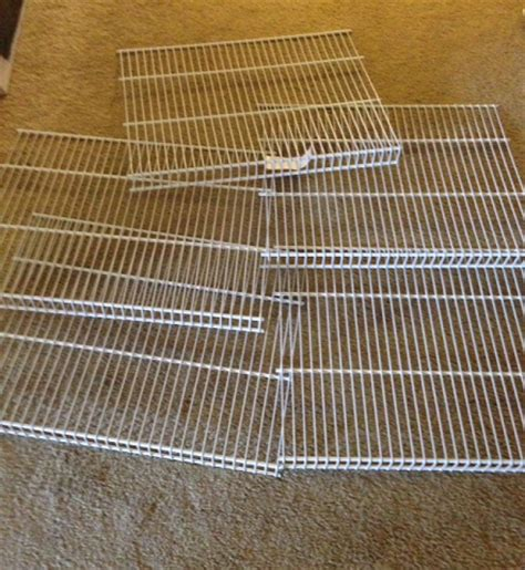Closetmaid Metal Shelving I Got Free Closetmaid Wire Shelving Who Said Nothing In
