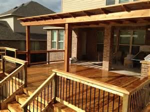 custom decks custom decks san antonio tx premier deck patios 830