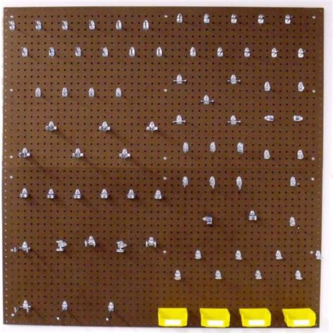 triton products 2 heavy duty 1 4 in x 1 8 in pegboard