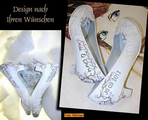 Designer Brautschuhe by Schuhe Individuell Gestalten Lassen Personalised Wedding