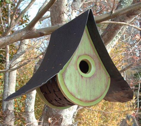 Handmade Birdhouses - handmade birdhouses a beautiful raindrop design