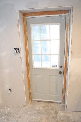 how to install an exterior door frame how to install or replace an exterior door one project