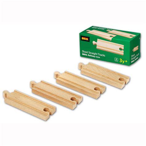brio track brio wooden railway short straight tracks at toystop