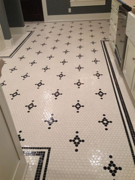 Hex Tiles For Bathroom Floors by Best 25 Hex Tile Ideas On Hexagon Tile