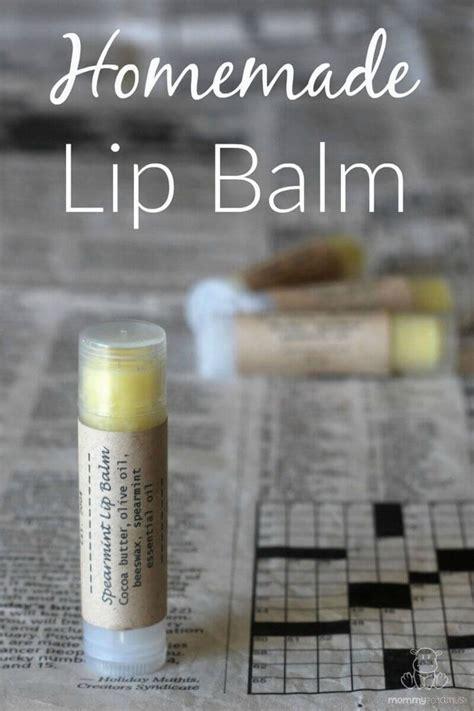 Homemade Lip Balm Recipe Diy Lip Balm Label Template
