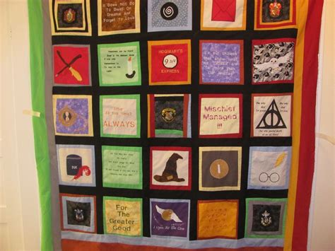 Harry Potter Quilt by Crafted Harry Potter Quilt By Mimi S Quilts Custommade