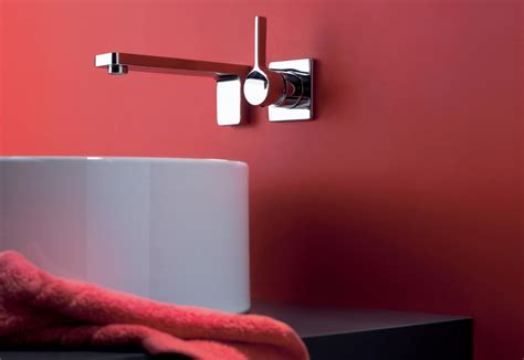 lulu wall mounted single lever basin mixer  dornbracht