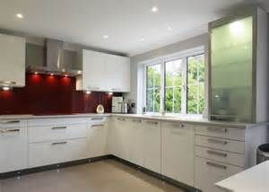Glossy White Kitchen Cabinets by Glossy White Kitchen Cabinets For Elegant Kitchen