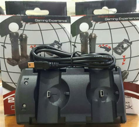 Charging Dock Stik Stick Ps3 Dual Move Charging Dock dual charging dock stik ps3 2 in1 baterai awet tokokomputer007