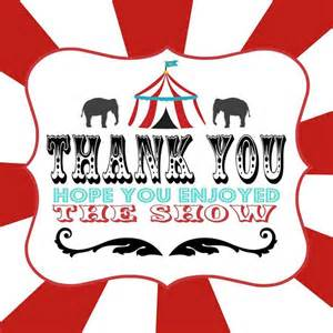 circus thank you cards ideas discover best ideas about circus