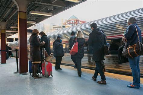 boarding boston boarding the northeast regional in boston 2016 amtrak history of america s