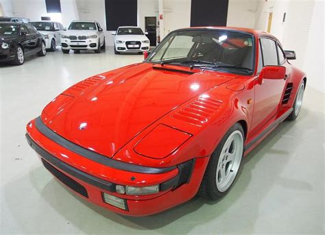 Ruf Porsche 930 Flatnose Spotted For Sale
