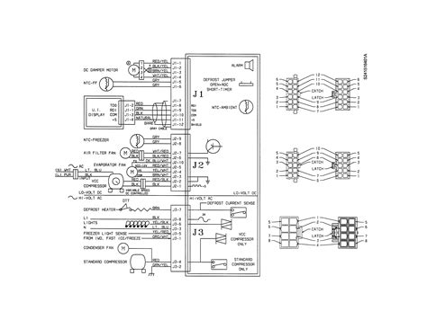 kenmore refrigerator wiring diagram circuit and