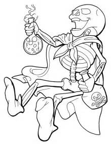 skeleton coloring page free printable skeleton coloring pages for