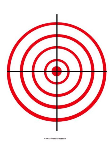 printable precision targets 17 best images about weapons printable targets on