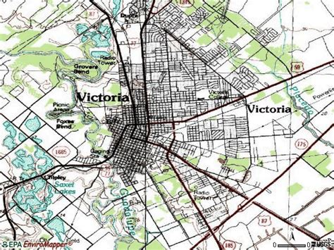 zip code map victoria tx victoria tx zip code map zip code map