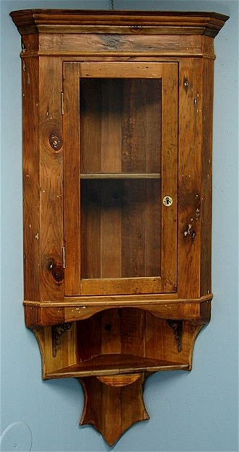 Hanging China Cabinet by Hanging Wall Corner Display China Cabinet Pine Lovely Ebay